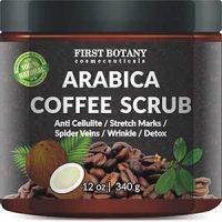 100% Natural Arabica Coffee Scrub 12 oz. with Organic Coffe