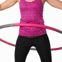 3 Pound Weighted Hula Hoop.