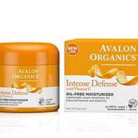 Avalon Organics Intense Defense Oil-Free Moisturizer, 2 Ounce