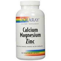 Solaray - Calcium Magnesium Zinc,250 capsules